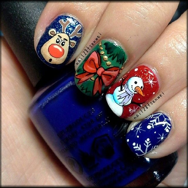 christmas by nail28tsenwei  #nail #nails #nailart