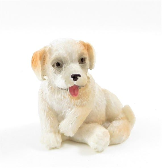 Dolls House Jack Russel Dogs Sitting /& Lying Down Miniature Pet 1:12 Accessory