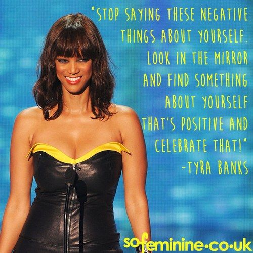 25+ Best Tyra Banks Quotes On Pinterest