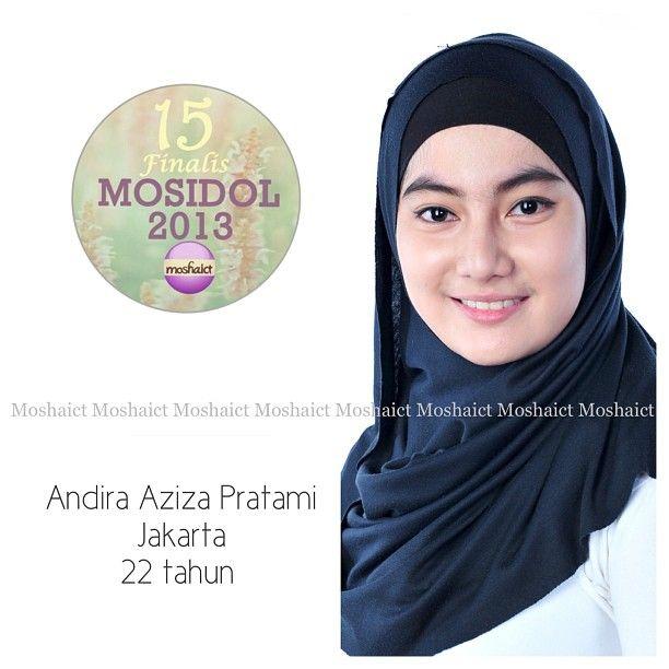 Andira Aziza Pratami : 15 besar MosIdol 2013 #MosIdol2013 #moshaict #hijab #fashion #fashionhijab #islamicfashion | www.moshaict.com