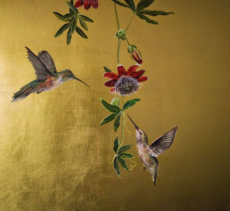 Ruth Winding: More Hummingbirds.