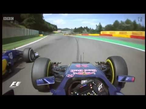 Max Verstappen - Post-Race: BBC - Belgian Spa Grand Prix 2015 - YouTube