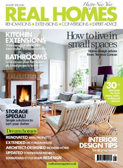 Check us out in the January 2013 Issue of @Real Homes Magazine!!!