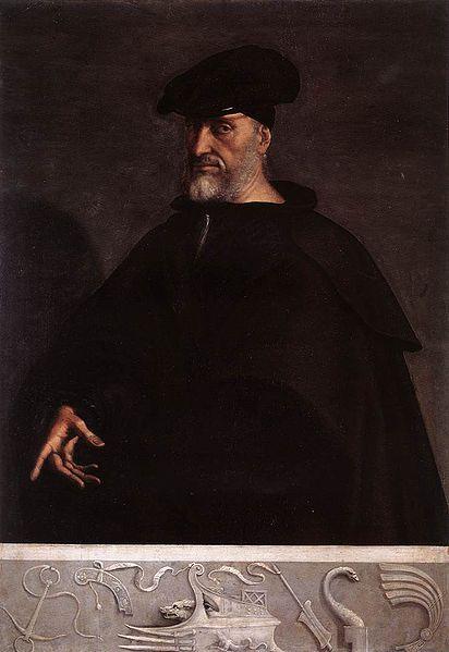 Andrea Doria was the losing admiral at the Battle of Preveza