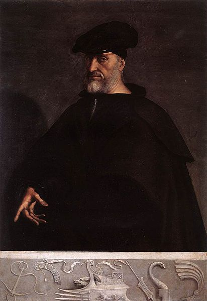 Andrea Doria was the losing admiral at the Battle of Preveza