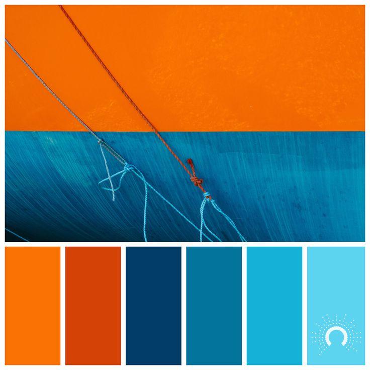 Color Palette, Color Combination, Farbpalette, Hue, Orange