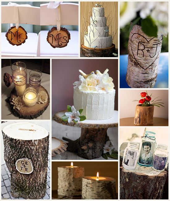 log decor