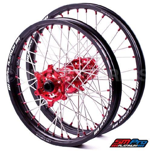 SM Pro Platinum Motocross Wheel Set - Honda