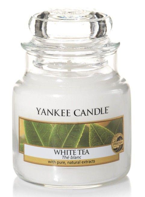 bougie parfumée petite jarre - Yankee Candle - Thé blanc