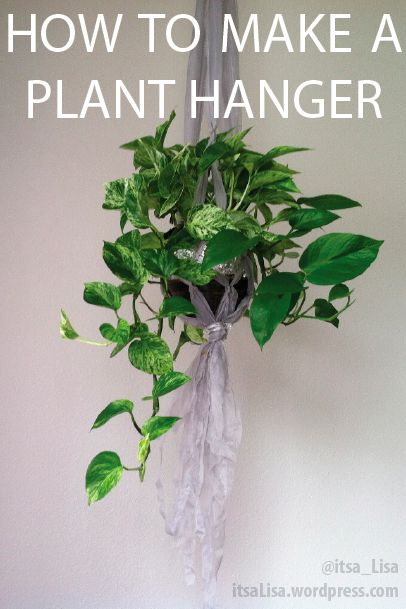 26 best images about plant hangers unique on pinterest planters coffee cans and hanging planters. Black Bedroom Furniture Sets. Home Design Ideas