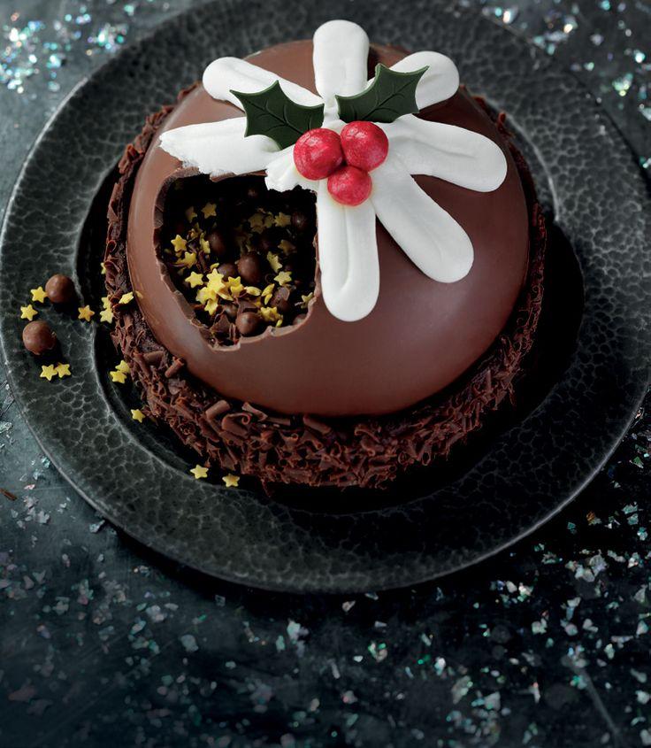 Christmas Pudding Smash Cake