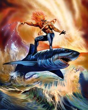 Shark Rider by Fernando Agudelo at Coroflot.com