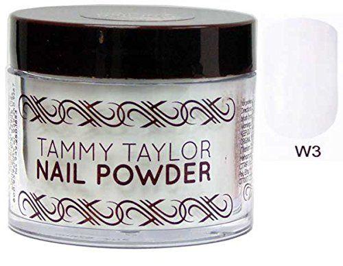 Tammy Taylor Nail Original Powder - 1.5oz (White-White-white -W3) by Tammy Taylor - http://buyonlinemakeup.com/tammy-taylor-nail-2/white-white-white-w3-tammy-taylor-nail-original-1-2