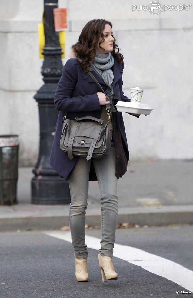 Leighton Meester.. She's got the style
