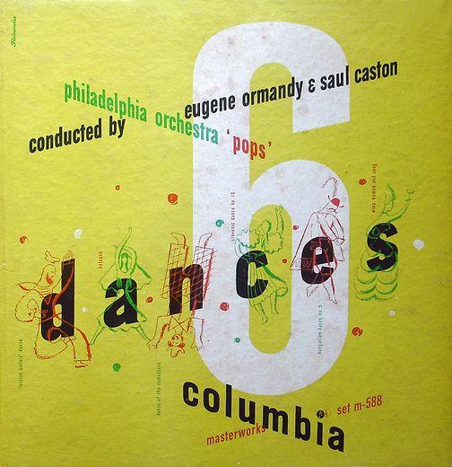 vintage album cover by Alex Steinweiss. – 6 Dances