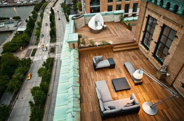 Taras na dachu - zdjęcie 1