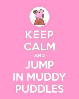 PRINTABLE KEEP CALM Peppa or George Printable 8x10 por ColourMyRoom by joyce