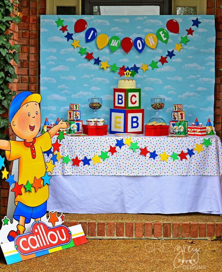 75 best King turns 2 images on Pinterest | Caillou, Birthday party ...