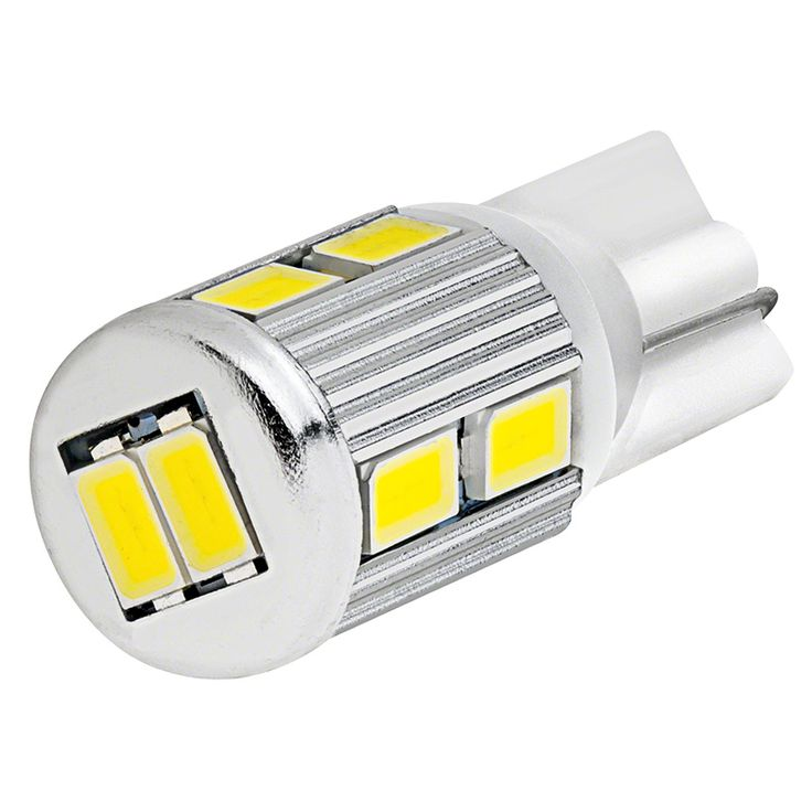 Boat 912 (non dome lights replacements)921 LED Bulb - 10 SMD LED Tower - Miniature Wedge Retrofit | Boat Miniature Wedge Base Bulbs | Marine LED Replacement Bulbs | LED Boat Lights and Marine LED Lights | Super Bright LEDs