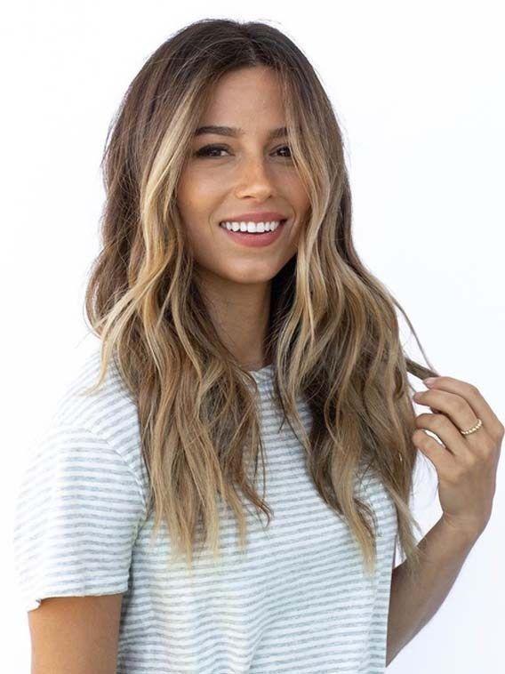 51 Fantastische Brunette Balayage Haarfarbe Ideen