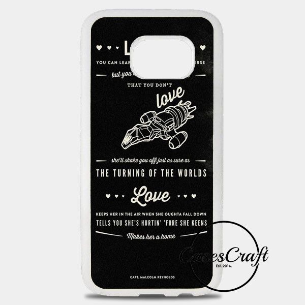 Firefly Serenity Quotes Samsung Galaxy S8 Plus Case | casescraft