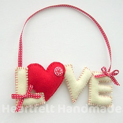 lover hanger - could do Joy, peace and so forth