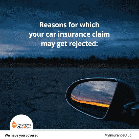 Reasons for which your car insurance claim may get rejected: Click here to insure your car: http://www.myinsuranceclub.com/car-insurance #Carinsurance #Cars