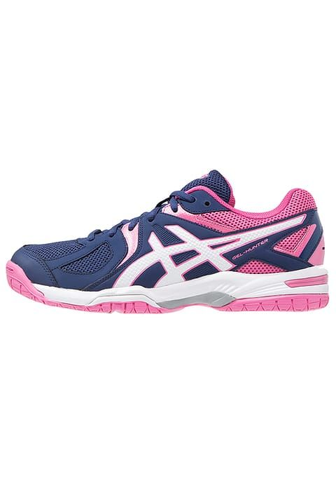 ASICS GEL-COURT HUNTER 3 - Scarpe da pallavolo - indigo blue/white/azalea pink - Zalando.it