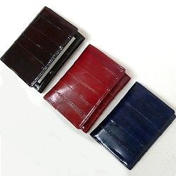 Eel skin wallets--the quality and practical Christmas gift for guys that are hard to buy for.  http://www.awnol.com/store/Eel-Skin-Wallets-and-Accessories