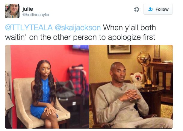 This Meme Of Skai Jackson Is What Your Petty Face Resembles