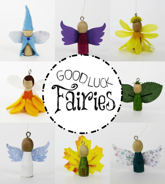 Who couldn't use a little more luck? These fairies are here to bring it! Made…