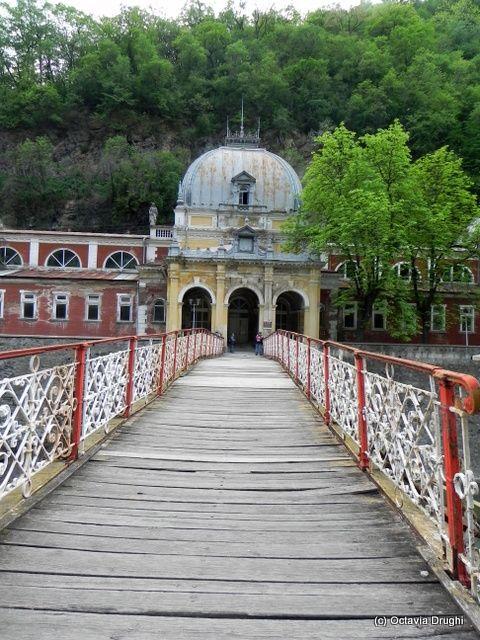 Herculane Resort-the Wrought Iron Bridge