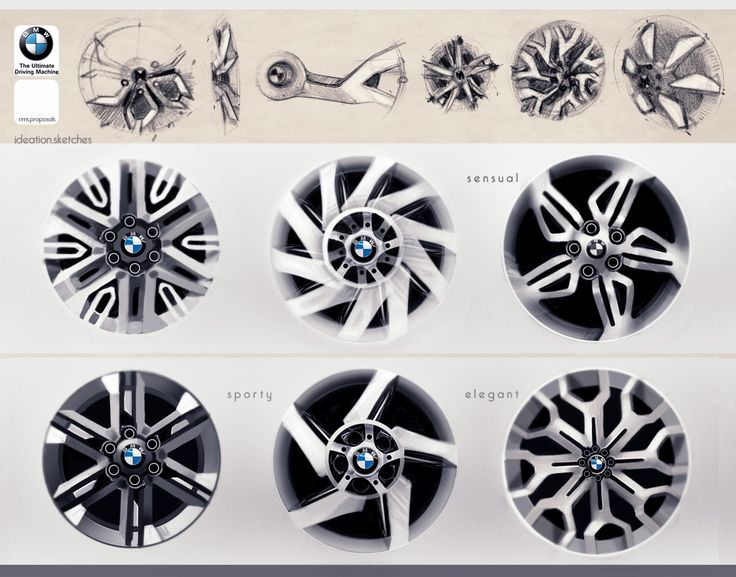 BMW rims by Ziad Zahar // Source: http://ziadzahar.blogspot.com/