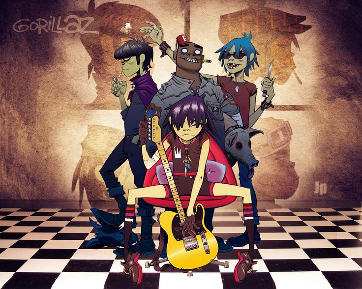 I don't know why it took me so long to discover Gorillaz, but