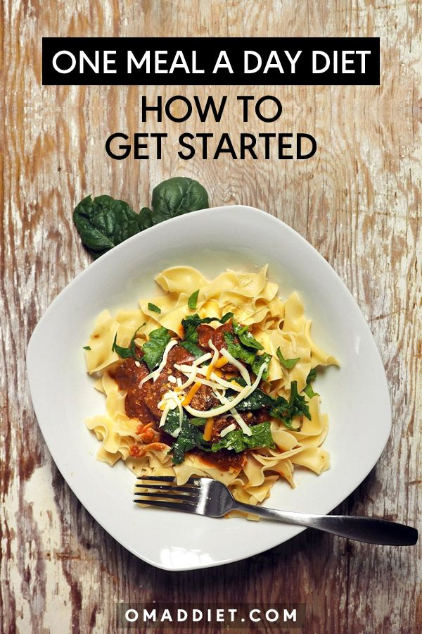 """When you do start the one meal a day diet, you are going to be hungry. This is basically a """"mind over body/stomach"""" issue you are going to have to weed through for the first few days or week."""