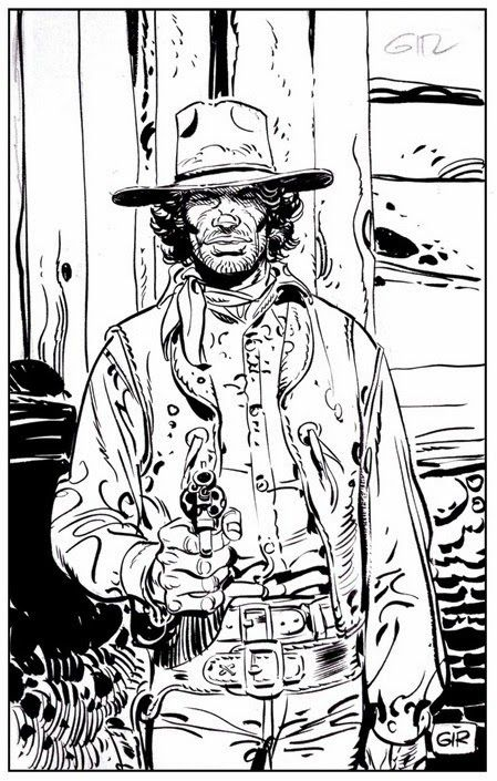 Mike Steve Blueberry, por Jean Giraud.