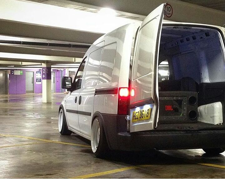 @dan_deakins Combo Is Sick #ModifiedVans #Vauxhall #Opel #Combo GO FOLLOW @dan_deakins by modifiedvans