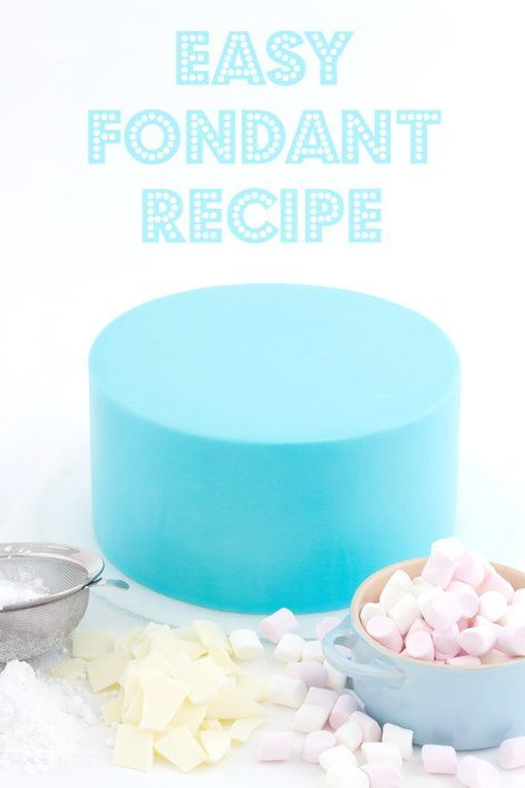 Master this easy fondant recipe in less than 15 minutes, using only 4 ingredients. One secret ingredient makes all the difference!