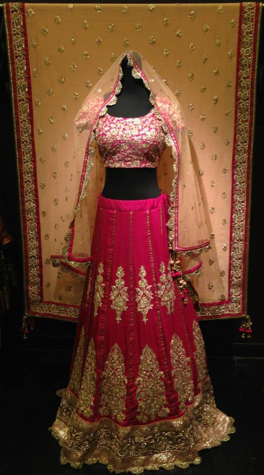 Bridal Lengha Website : http://www.bhartistailors.com/ Email : arvin@bhartistailors.com