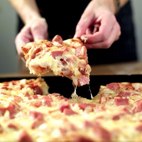 Pølsepizza!