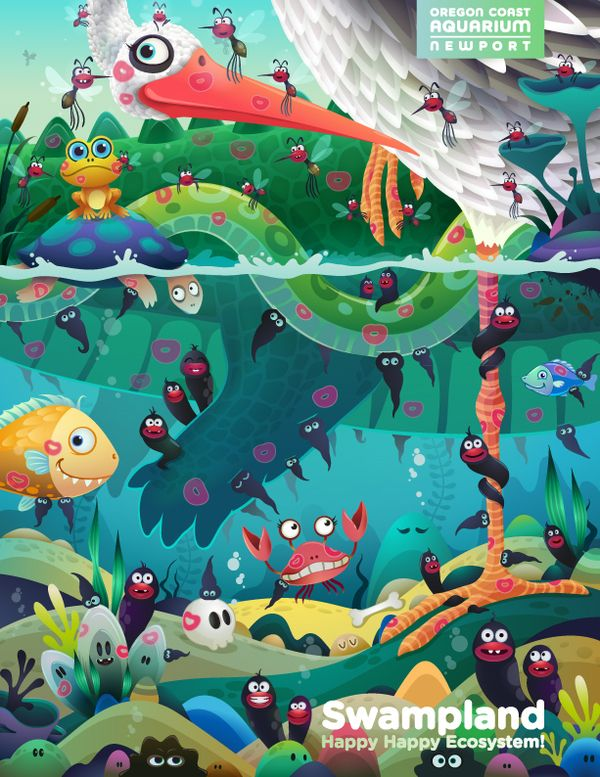 Swampland on Behance