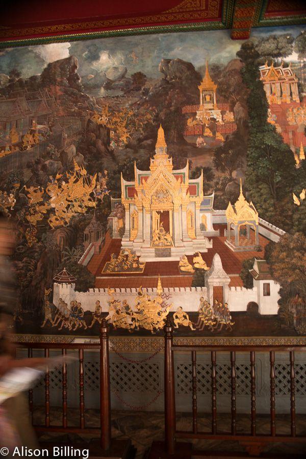 Mural of Ramayana, Royal Palace, Bangkok