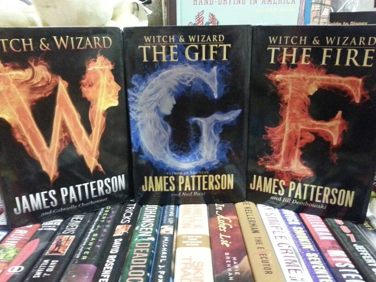 Witch & Wizard, The Gift, & The Fire by James Patterson ...