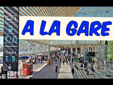 Learn how to buy a train ticket and how to understand time in French. Listen to a French conversation at the train station. Please share, like, comment and s...