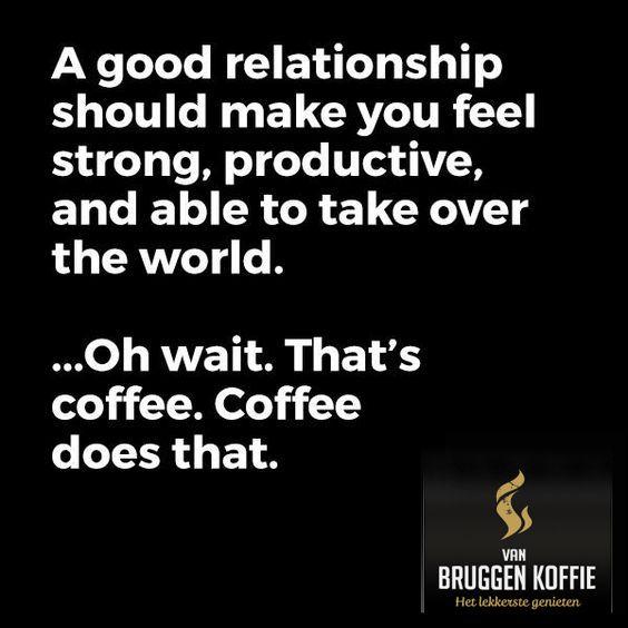A good relationship (with coffee) Van Bruggen Koffie