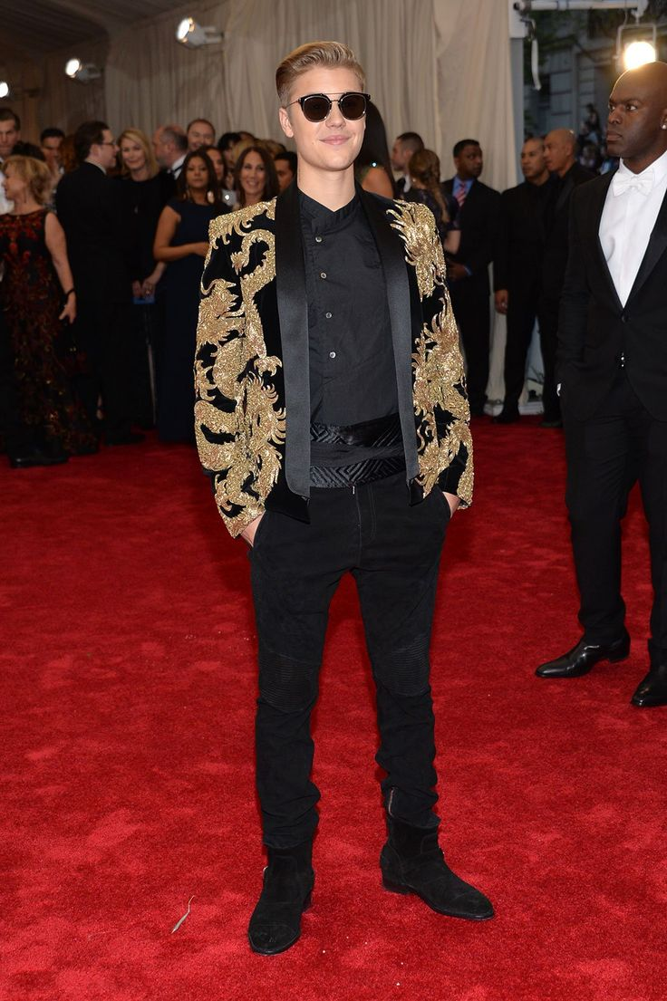 Justin Bieber @Met Gala 2015 Red Carpet