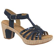 Buy Gabor Cheri Wide Fit Block Heeled Sandals Online at johnlewis.com