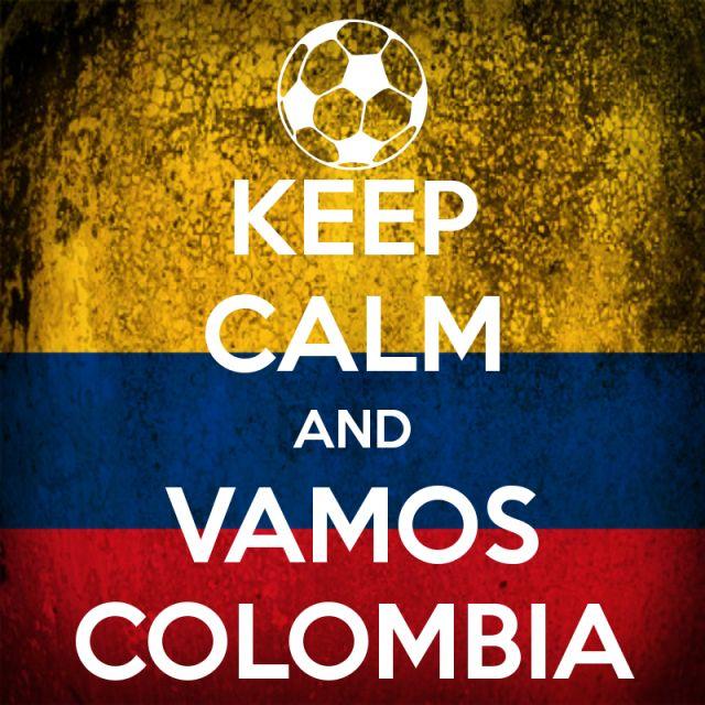vamos Colombia! ya tenemos esto ganado