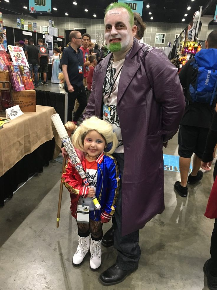 Stan Lee's Los Angeles Comic Con: Day 2 Cosplay Little Harley and Joker