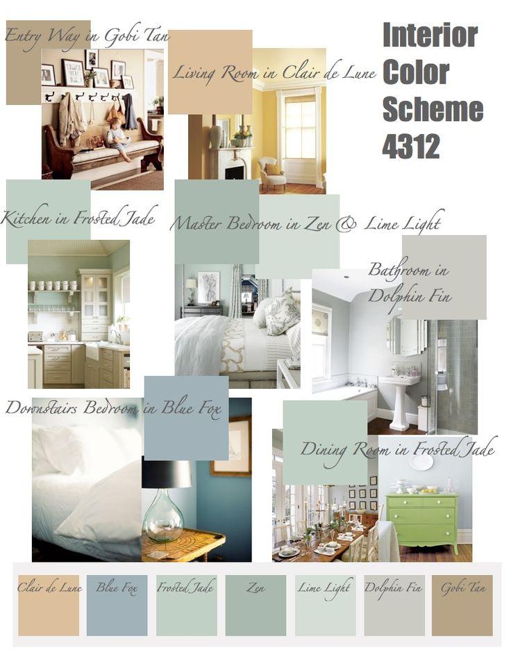 Living room color palette generator - Exterior house color scheme generator ...